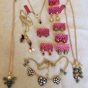 Large 12 pc Betsey Johnson collection